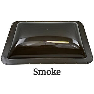 Rv Exterior Skylight Dome 26 X 18in Od Roof Flange Vent