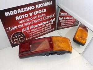 FANALINO FANALE ANTERIORE  DX BIANCO FIAT 127 1° SERIE