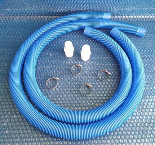 Poolschlauch 4 Schellen Umrüstsatz für Schlauch 38 mm auf 32 mm inkl Pool