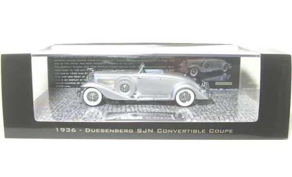 DUESENBERG SJN  SUPERCHARGED  convertibile Coupè  1936  Argento