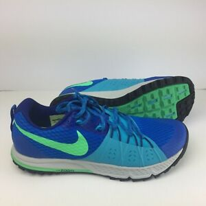 b8d5f3d7a449 NEW Nike Mens Air Zoom Wildhorse 4 Running Shoes Blue Size 12.5 ...