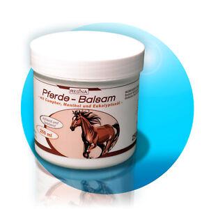 4x-Pferde-Balsam-wirkt-kuehlend-amp-belebend-250-ml-Creme-Salbe-Sportgel-Massagegel