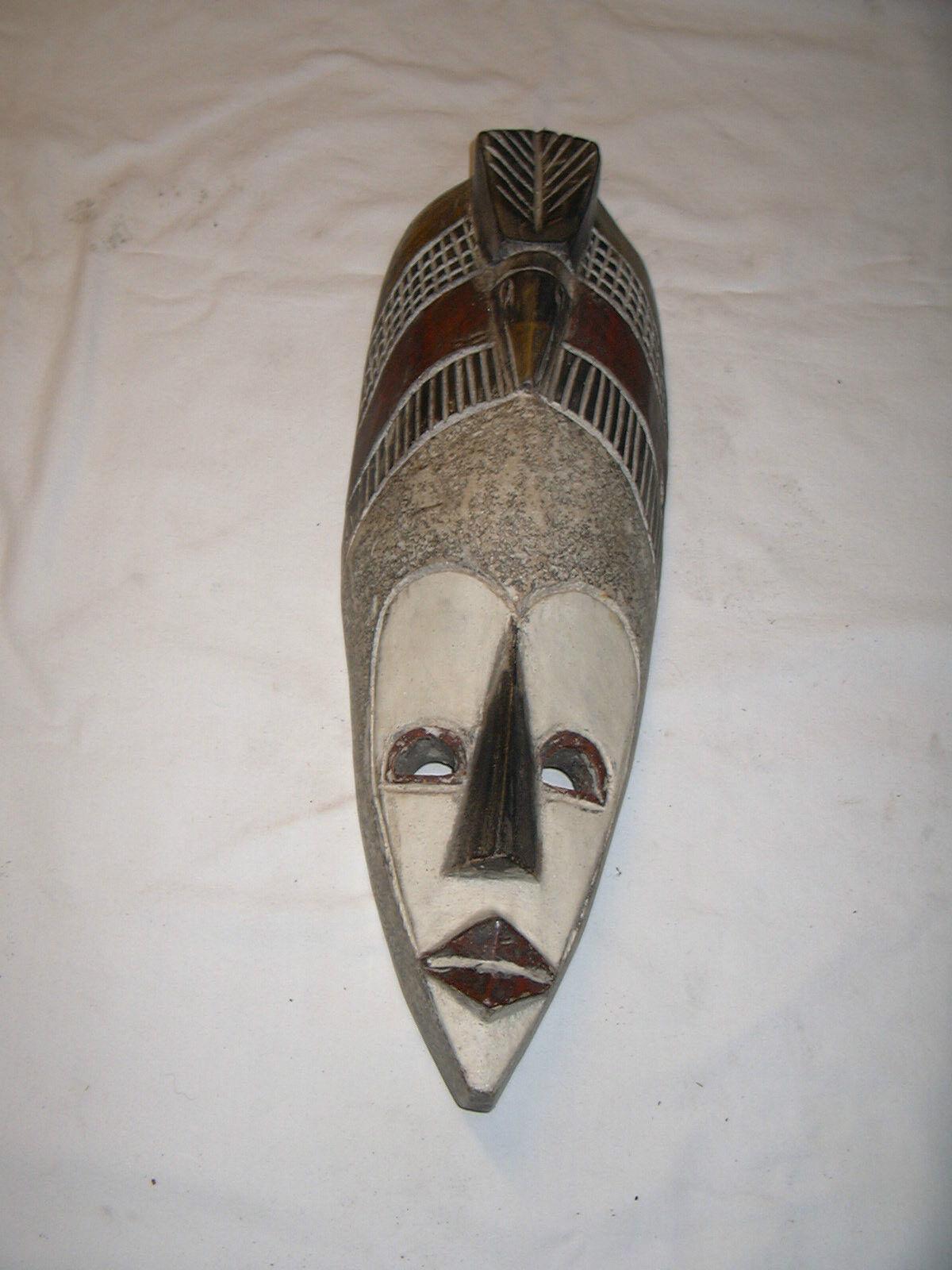 Große Maske aus Afrika Ghana Handarbeit Unikat