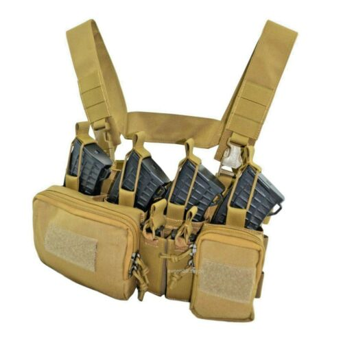 Details about  /Russian Tactical Chest Rig Scout D3 Coyote Brown