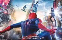 Amazing Spider-man 2 Battle 22x34 Movie Poster Andrew Garfield Foxx Spiderman