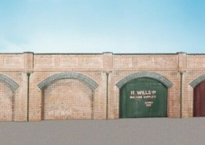 Brick Retaining Arches (4) - Oo/ho Building – Wills Ss52 - Free Post