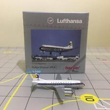 NIB HERPA WINGS 511780 LUFTHANSA VICKERS VISCOUNT V814 W/ REG. 1:500 SCALE NEW