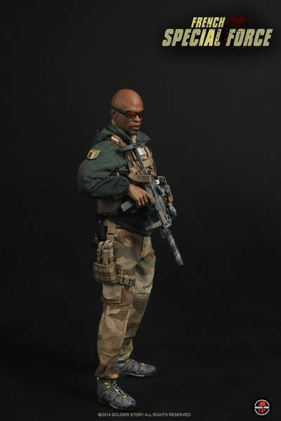 French Special Forces Modern  1 6 figure   figurine Soldier Story SS085  bas prix
