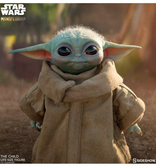 Sideshow - Star Wars - The Niños Mandalorian - Baby Yoda - 1/1