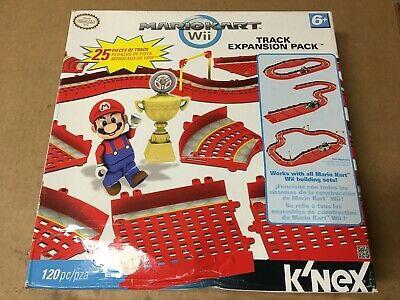Mariokart Wii Track Expansion Pack Knex 120 Pc Works W All Mario