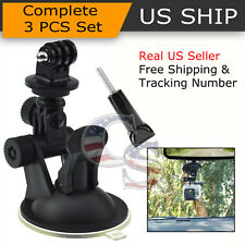 Car Window Windshield Glass Suction Cup Mount for GoPro Hero 6 5 4 3 2 Camera