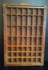 Vintage Hamilton typeset printer tray/drawer shadowbox