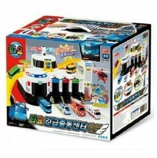 Verkauf Tayo Notrettungszentrum Little Bus Spielset Hauptsitz fur Kinder Ge_sgdk