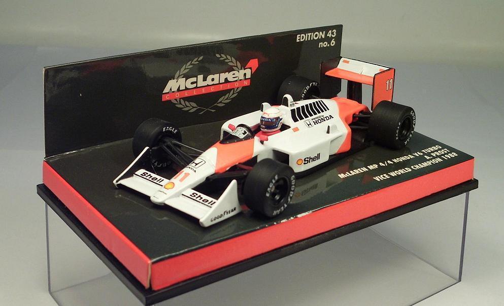 Minichamps (pma)  1 43 McLaren Honda v6 turbo MP 4 4 formule 1 a. prost OVP  9773  qualité de première classe