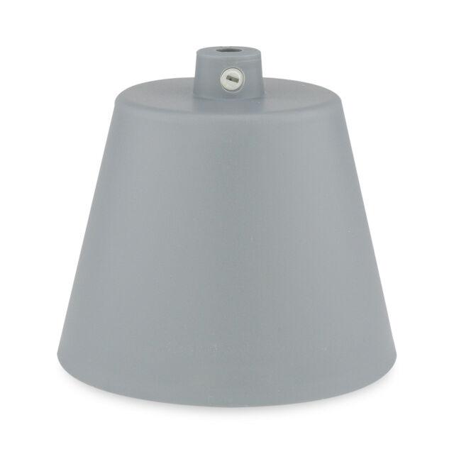 Lampenset Schwarz Fassung E27 Anschlussabdeckung Deckenlampe Kabelset lila