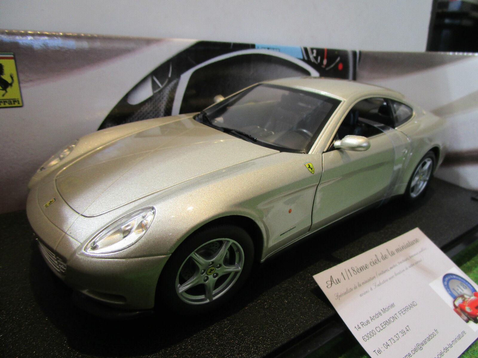 FERRARI 612 SCAGLIETTI champa 1 18 HOT WHEELS C7524 voiture miniature collection