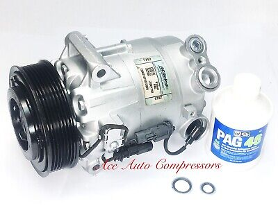 BuyAutoParts 60-03519NA New For Buick LaCrosse Regal /& Chevy Impala Malibu AC Compressor /& A//C Clutch