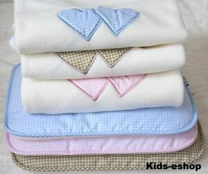 baby girl boy blanket pram crib cot bedding blanket pillow set