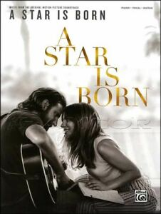 A-Star-Is-Born-Piano-Vocal-Guitar-Sheet-Music-Book-Movie-Soundtrack-Black-Eyes