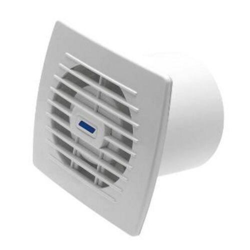 Badlüfter Kleinraumlüfter Ventilator Raumentlüfter Lüfter Einbaulüfter Weiß 7596