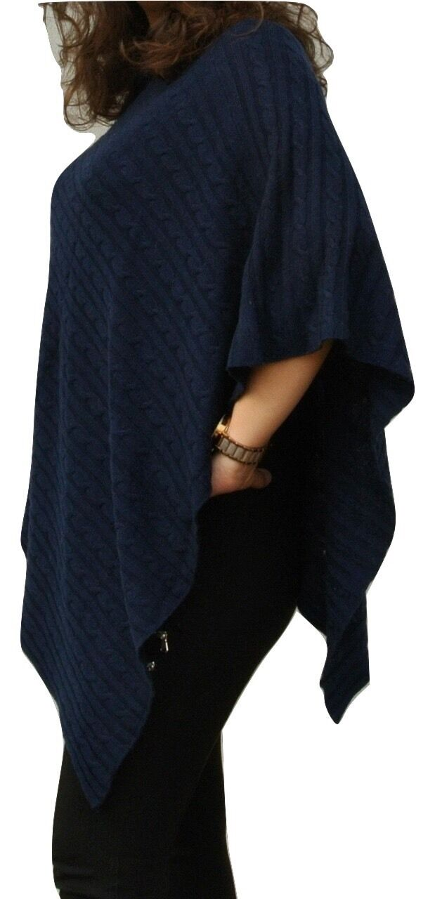 97653eb0a Pure 100% Cashmere Knit Nepal In Handcrafted bluee, Navy Rich In ...