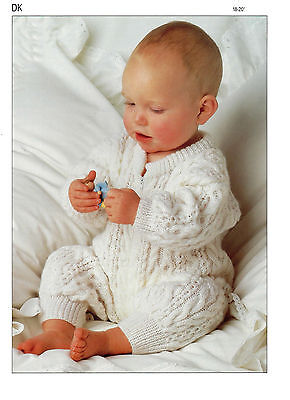 Baby Childs All In One DK Knitting Pattern 99p