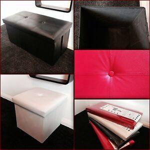 FAUX-LEATHER-OTTOMAN-FOLDING-FOLDABLE-STORAGE-BOX-FOOT-STOOL-SEAT-5-colours