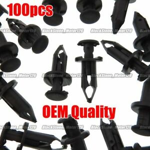 ATV, Side-by-Side & UTV Parts & Accessories Set Of 100 ATV Retainer Clips 8mm Push Pin Splash Guard Body Panel Fit For Honda