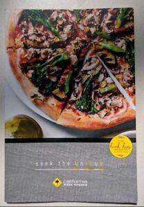 Details About California Pizza Kitchen Restaurant Menu Laminated