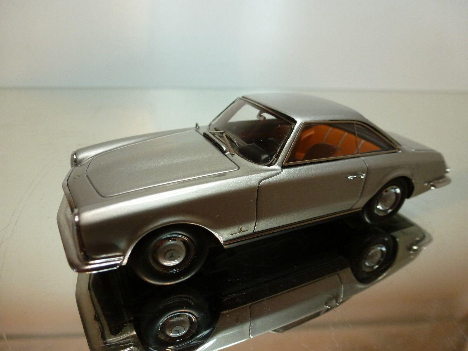 NEO MERCEDES-BENZ 230 SL PININFARINA 1956 - gris 1 43 - EXCELLENT - RARE - 23