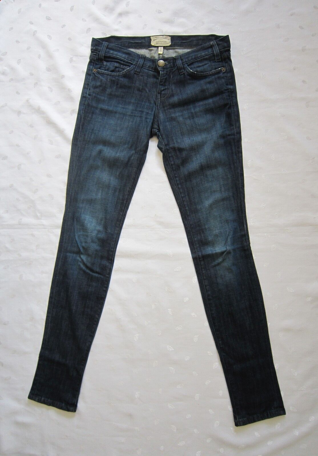 CURRENT   ELLIOTT The Skinny blueEBERRY JAM Dark Wash Denim Skinny Jeans Size 26