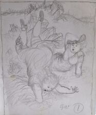 GARTH WILLIAMS~ORIGINAL BOOK ILLUSTRATION  #20~CHESTER CRICKET'S NEW HOME~