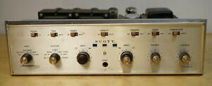 Scott-299d-fruehe-Roehre-Vollverstaerker-Geprueft-nach-einschalten