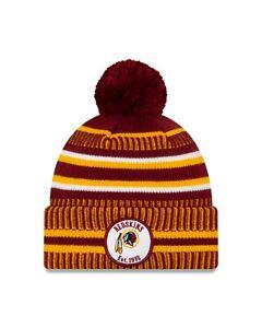 Men-039-s-New-Era-NFL-Football-Sideline-Official-Sport-Cuffed-Knit-Hat-Pom-Cap-Hat