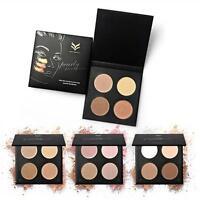 4 Colors Makeup Face Blush Highlight Contour Powder Palette Eyeshadow Makeup Kit