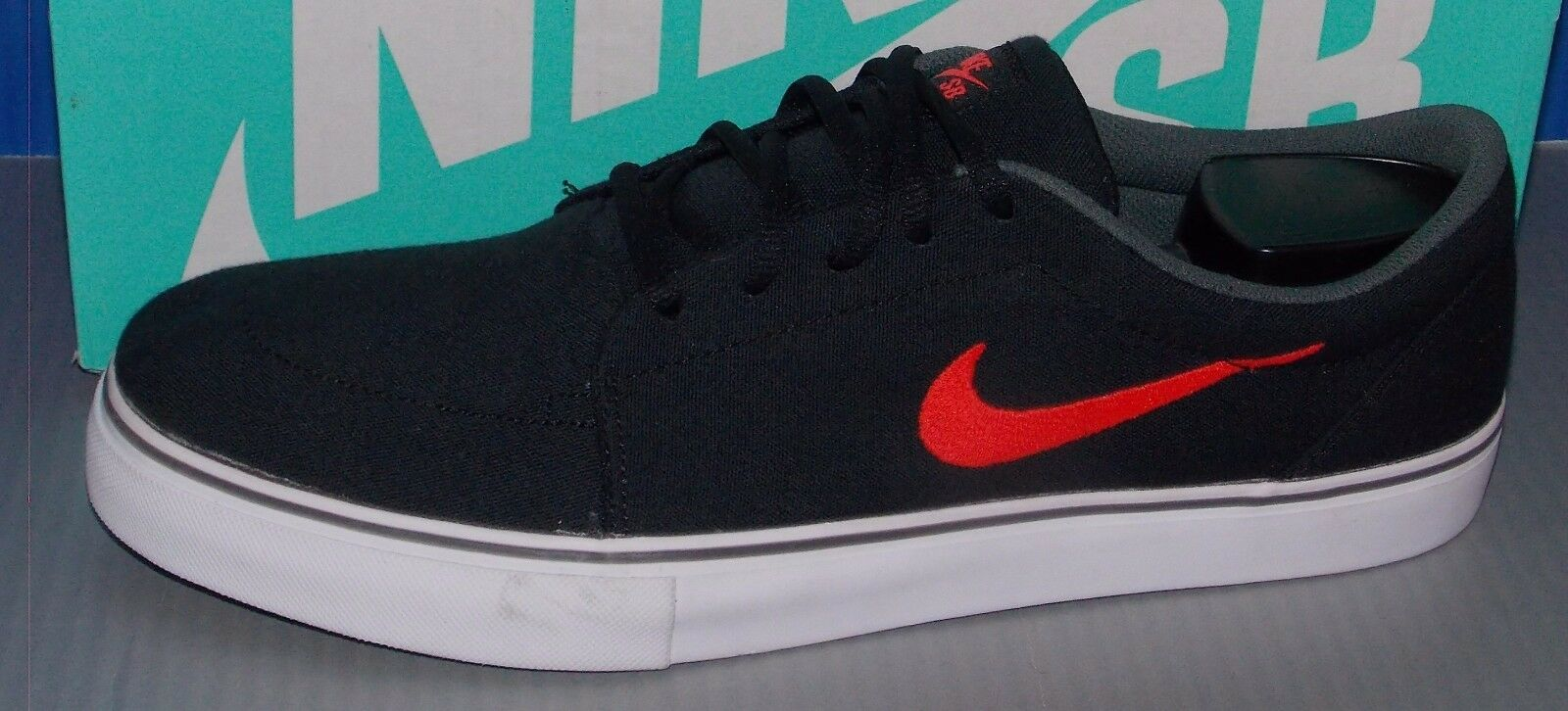 MENS NIKE SATIRE CANVAS IN COLORS BLACK / GREY SIZE 12 Brand discount