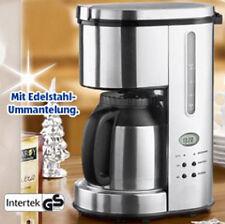 Kaffeemaschine Thermo-Kaffeeautomat 24-Std Timer Thermoskanne Edelstahl