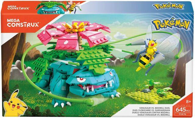 Pokemon Venusaur vs Beedrill Mega Construx