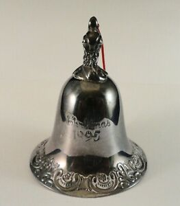 1995 Wallace Silver Bell Christmas Ornament   eBay