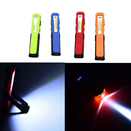 USB LED COB Inspection Lamp Work Light Flexible Rechargeable Torch Magnetic