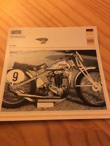Ardie-250-Silberfuchs-1931-Karte-Motorrad-Sammlung-Atlas