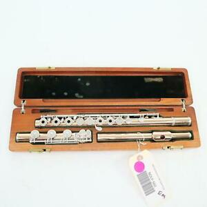 N.D. Lamberson Solid 14K Gold Handmade Flute SN 560 GORGEOUS