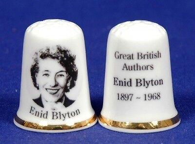 Great British Authors /'Enid Blyton 1897-1968/' China Thimble B//107