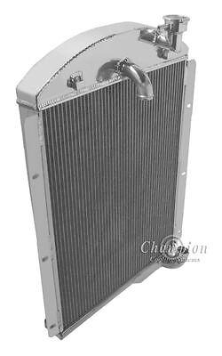 3 Row Aluminum Radiator for Chevy PickUp Trucks 1941 1942 1943 1944 1945 1946