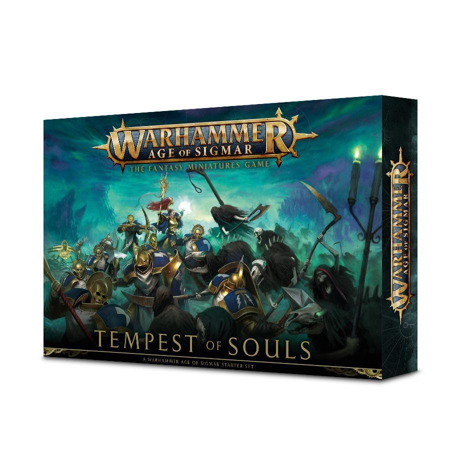 Age of Sigmar TEMPEST of Souls (tedesco) giocos lavoronegozio Warhammer aos estrellater