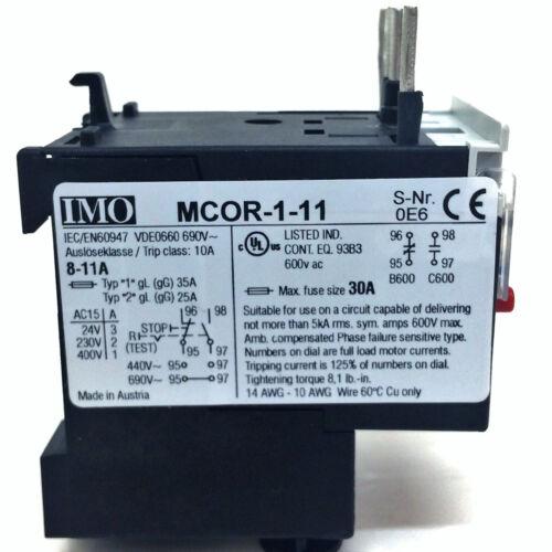 Relé de sobrecarga térmica MCOR Nuevo * 1-11 Omi MCOR 111