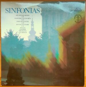 SINFONIAS Czech Supraphon Stereo LP BendaMicaMyslivecekStamic Ulf Bjorlin - Newcastle-Upon-Tyne, United Kingdom - SINFONIAS Czech Supraphon Stereo LP BendaMicaMyslivecekStamic Ulf Bjorlin - Newcastle-Upon-Tyne, United Kingdom