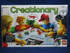 LEGO 3844 Games Creationary Complete Including Instructions /& box Retired!