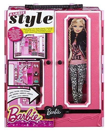 Barbie Barbie Barbie Style Ultimate Closet Wardrobe Outfits  Accessories Brand New 11430e