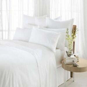 100-Cotton-500-Thread-Count-Luxury-White-Fitted-Sheet